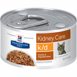 Hills Prescription Diet  k/d Cat Feline Renal Health 156 Gms