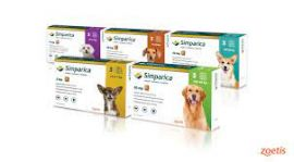 Simparica Tick and Flea Sarolaner Chewable Tablets for 20-40kg Dogs