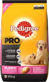 Pedigree Pro Expert Nutrition, Dry Dog Food for Large Breed Puppy (3-18 Months) - 10 kg