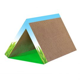 Pet Stage Fold Away Scratching Tunnel