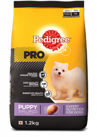 Pedigree Professional Puppy Small Breed Premium Dog Food, 3kg Pack