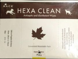 Race Hexa Clean Wipes 20pcs