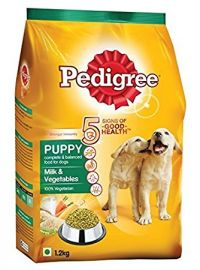 Pedigree Puppy Dog Food Milk and Vegetables, 1.2 kg