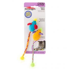 Petstages Twice Mice Pack Of 2 383