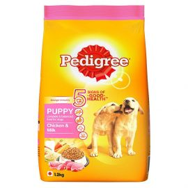 Pedigree Puppy Dry Dog Food, Chicken and Milk, 1.2 kg
