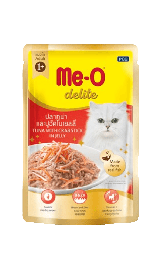 Meo Adult Delite Tuna With Crab Stick In Jelly Wet Pouch 70g