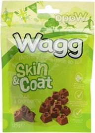 Wagg Skin and Coat Duck and Cranberry 125g
