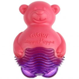GiGwi suppa puppa Bear pink/purple