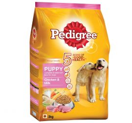 Pedigree Puppy Dry Dog Food, Chicken and Milk, 3kg