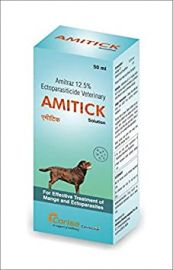 Amitick Amitraz 12.5% Soloution 50ml