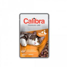 Calibra Adult Cat Duck And Chicken Wet Pouch 100g