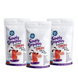 Capt Zack Simply Singapore Freeze Dried Chicken 50g