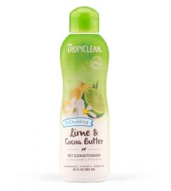 Tropiclean De shedding Lime and Cocoa Butter Conditioner 355 ml