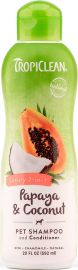 Tropiclean Papaya and Coconut Shampoo and Conditioner 355ml