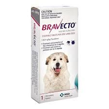 BravECTO Chew Tablet 40-56kg  1400mg