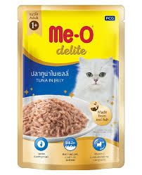 Meo Adult Delite Tuna In Jelly Wet Pouch 70g