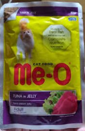 Meo Adult Tuna In Jelly Wet Pouch 80g