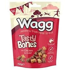 Wagg Tasty Bones Chicken and Liver 150gm