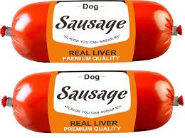 Drools Sausage for Dogs, Real Liver, 150 g