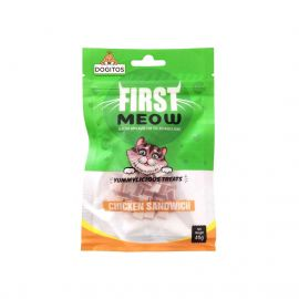 First Meo Chicken Sandwich Cat Treats 40g