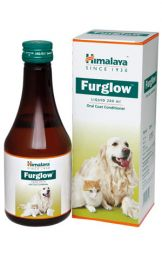 Himalaya Furglow Oral Coat Condtioner Syrup For Dogs and Cats 400 ml