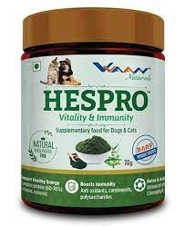 Hespro Vitality and Immunity Supplement Food For Dogs and Cats 70g