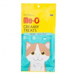 Me-O Creamy Treats with Bonito for Cats and Kittens