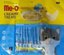 Meo Creamy Treats Chicken and Liver Flavour 300gm 20nos