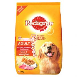 Pedigree Adult Meat and Vegetable Dog Food  20kg
