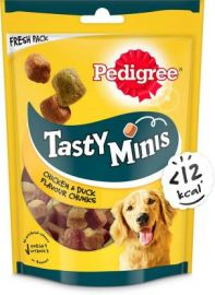 Pedigree Adult Tasty Minis With Chicken and Duck Chunks Dog Treats 130g