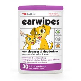 PetKin Earwipers For Dogs and Cats 30pcs