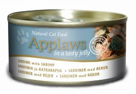Applaws Sardines With Shrimp in tasty Jelly wet Cann 70g