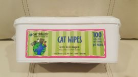 Earthbath Green Tea Cat Wipes 100CT