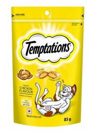 Temptations Tasty Chicken Flavour Treats For Cats 85g