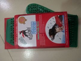 Lalpet Super Groom Master Rubber Bath Gloves Clean and Dry